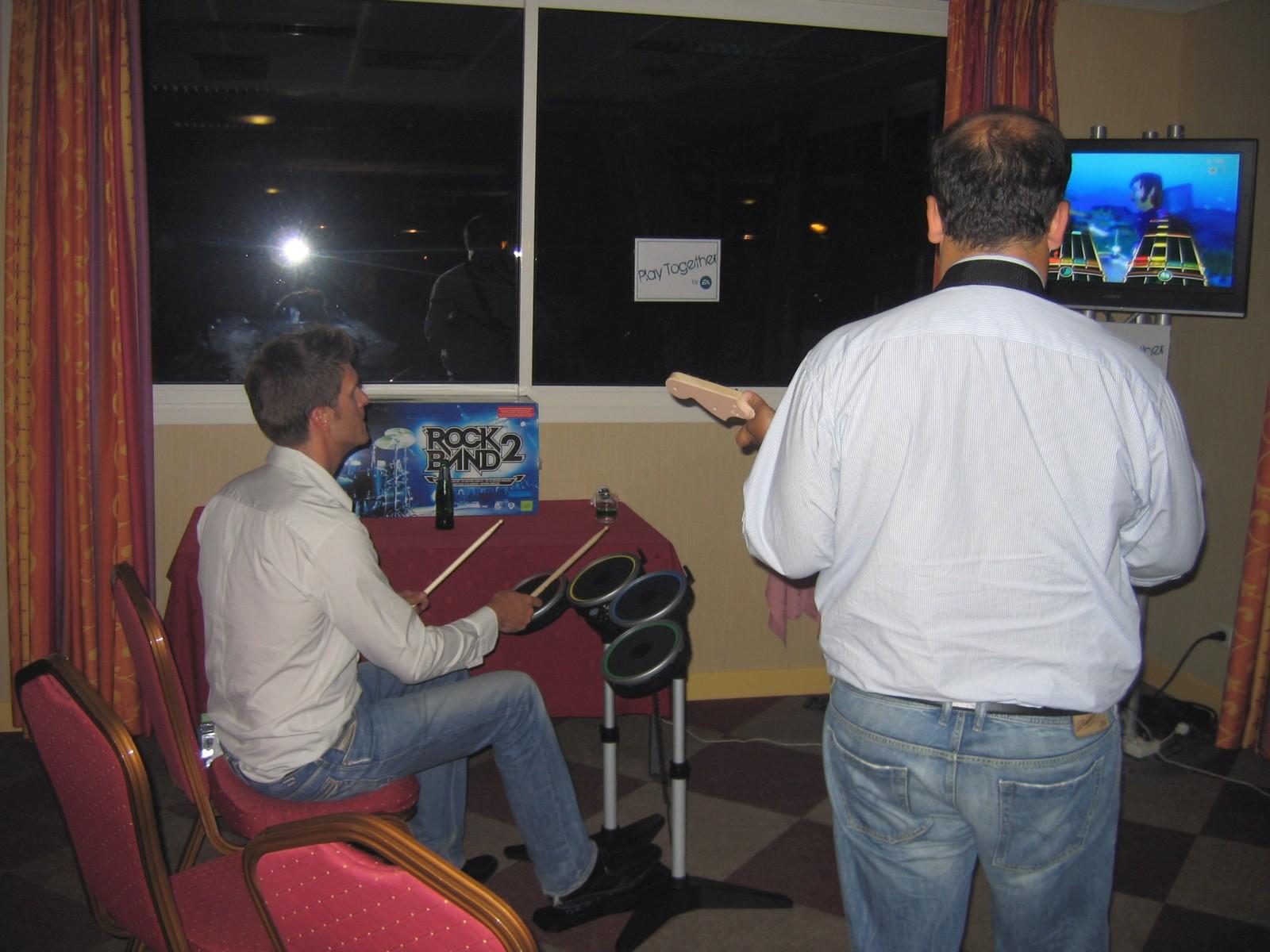 Animation soirée séminaire jeux vidéo