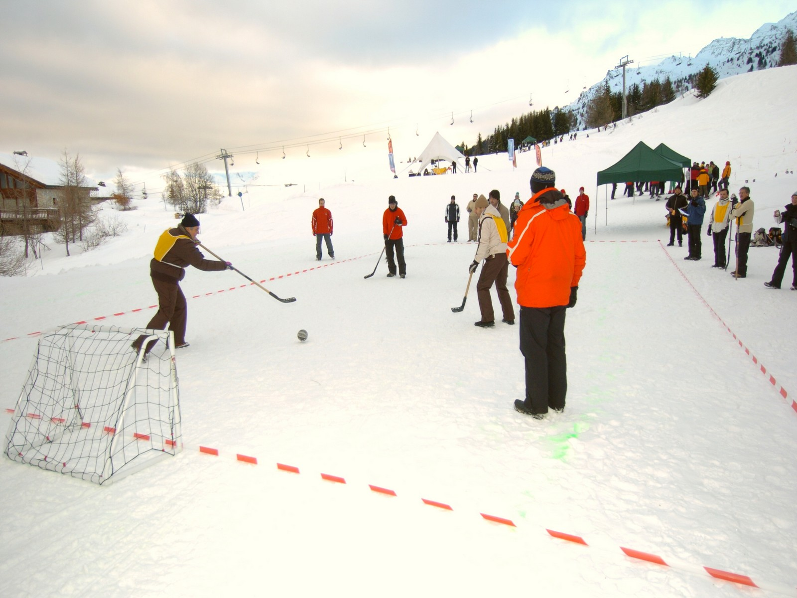 Challenge teambuilding hiver Savoie