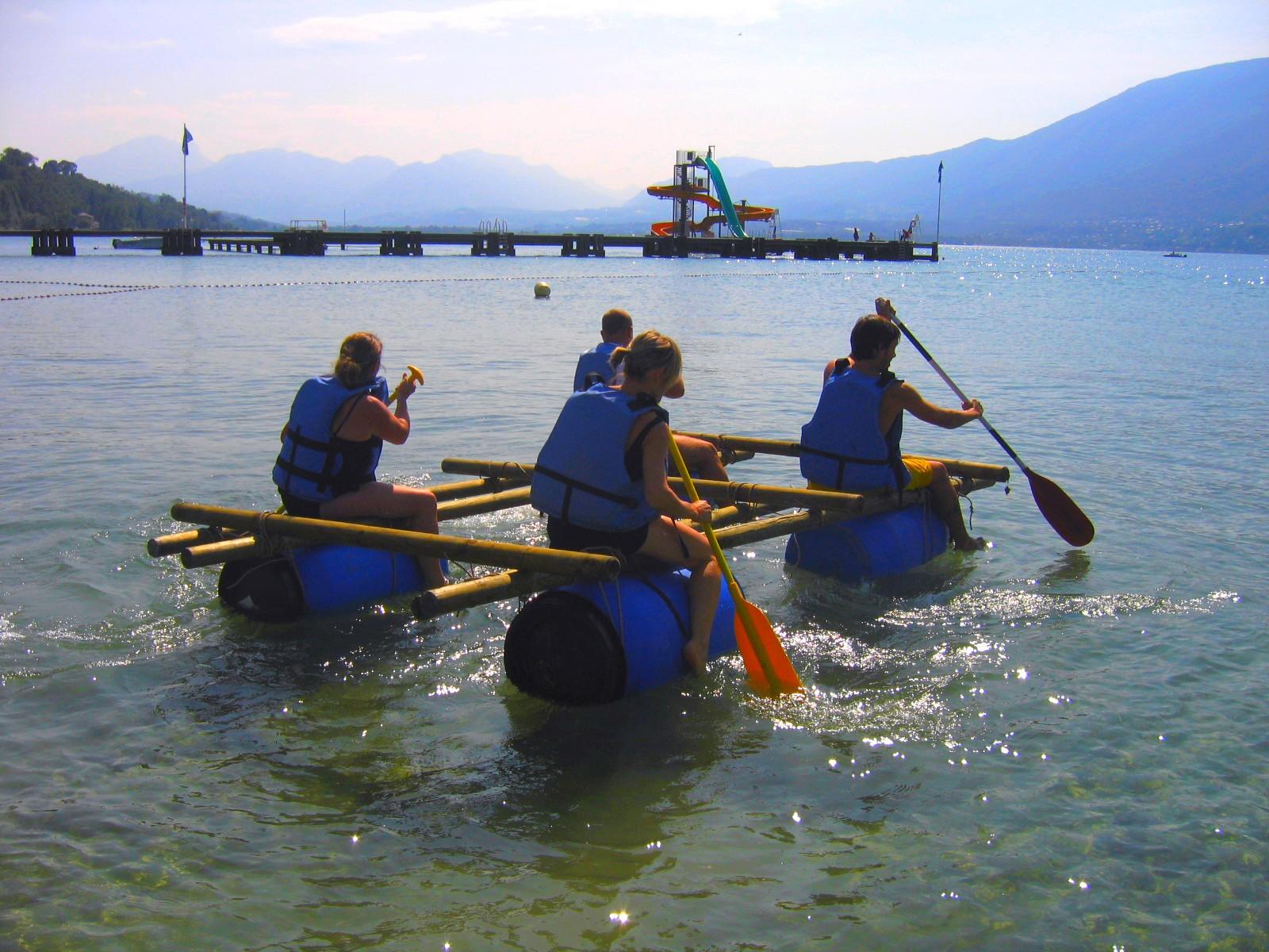 Challenge teambuilding nautique Aix-les-Bains