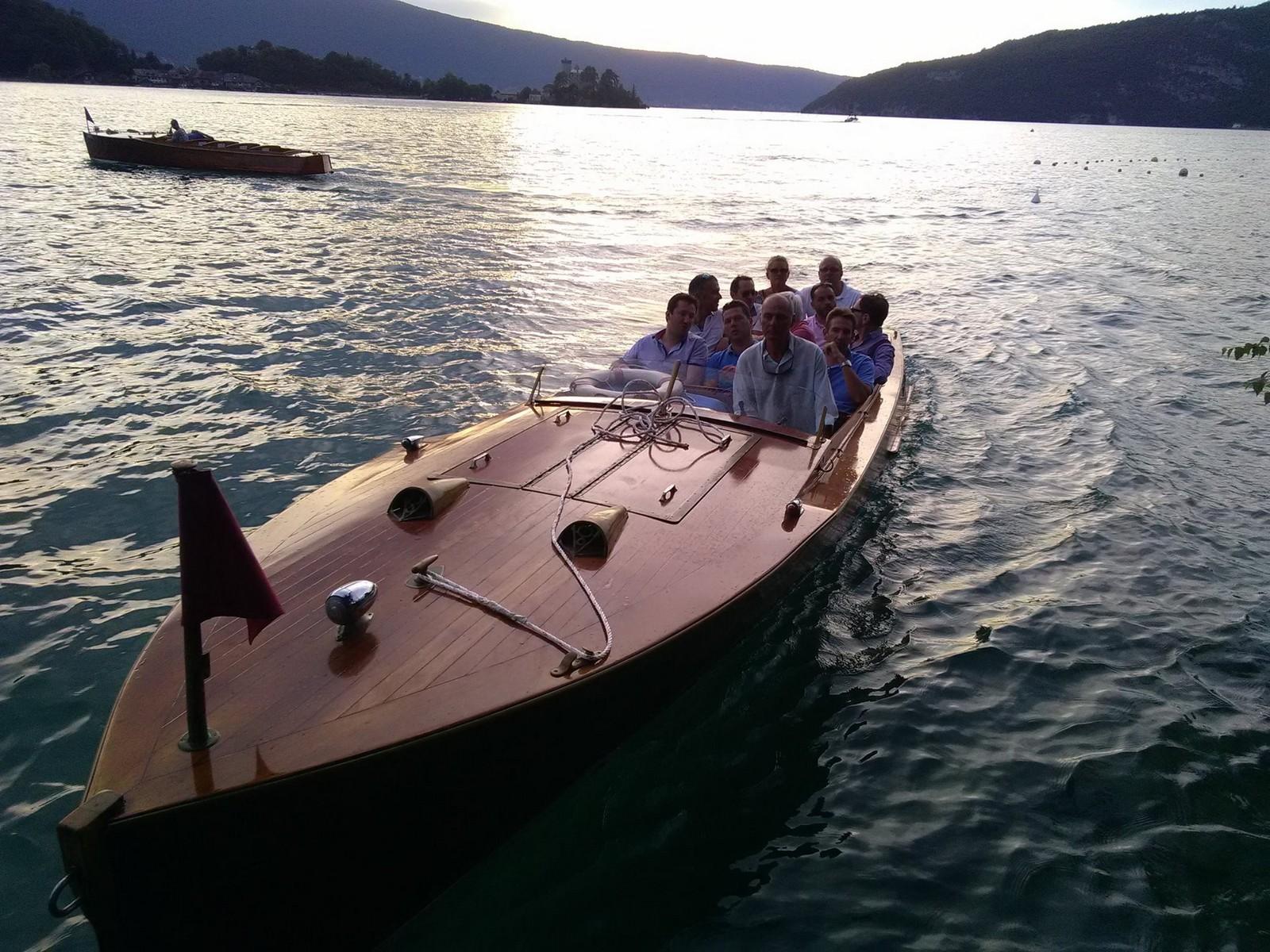Soirée Séminaire originale bateau lac Annecy