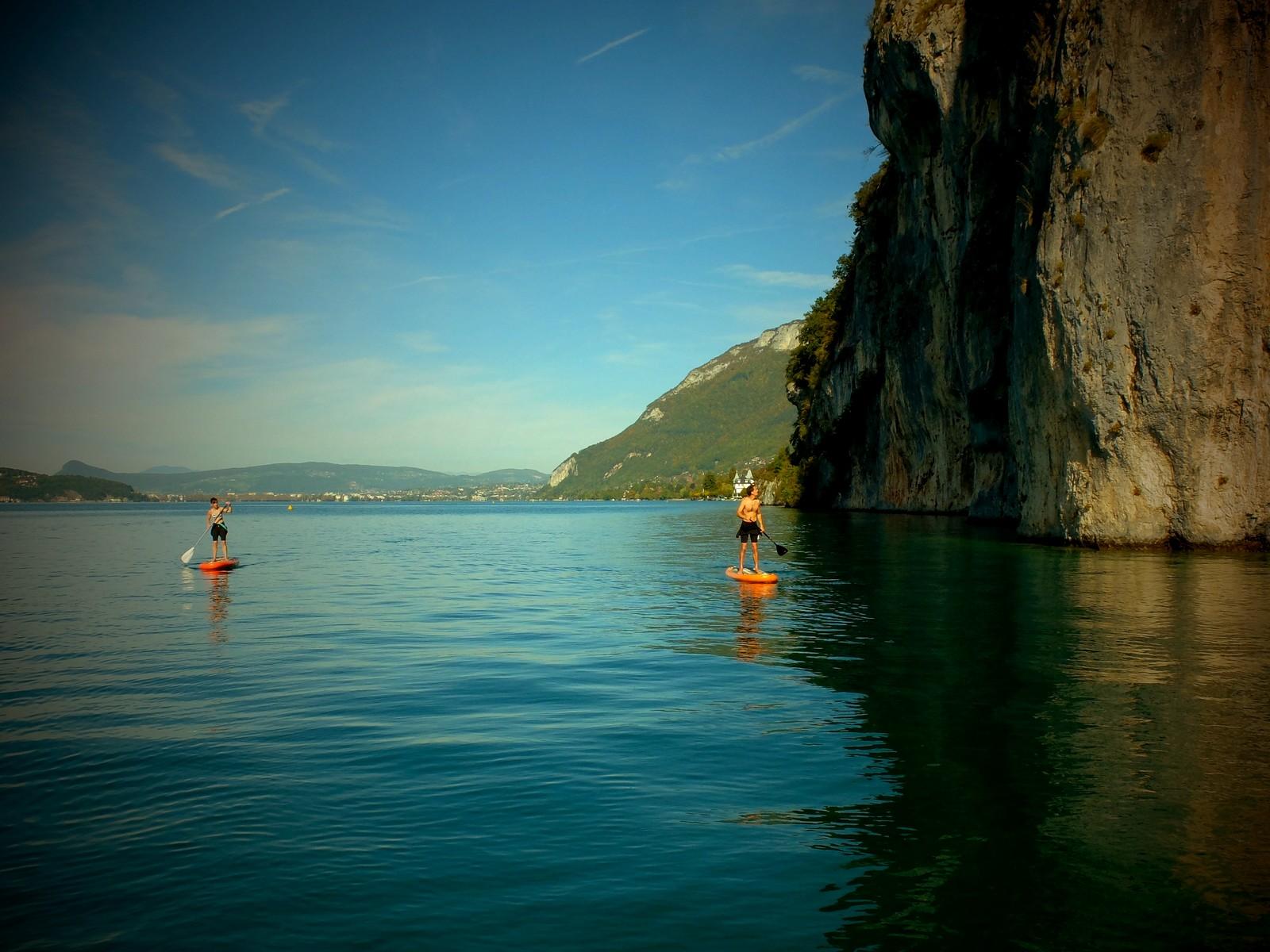 activité incentive lac d'Annecy paddle séminaire à saint jorioz