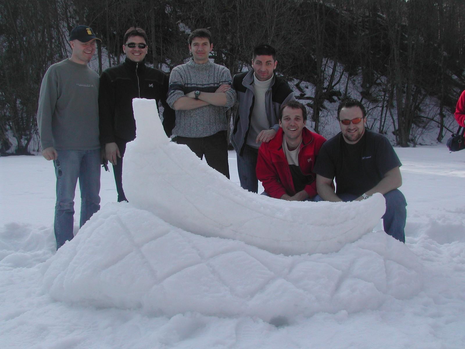 challenge olympiades sur neige séminaire à Morzine