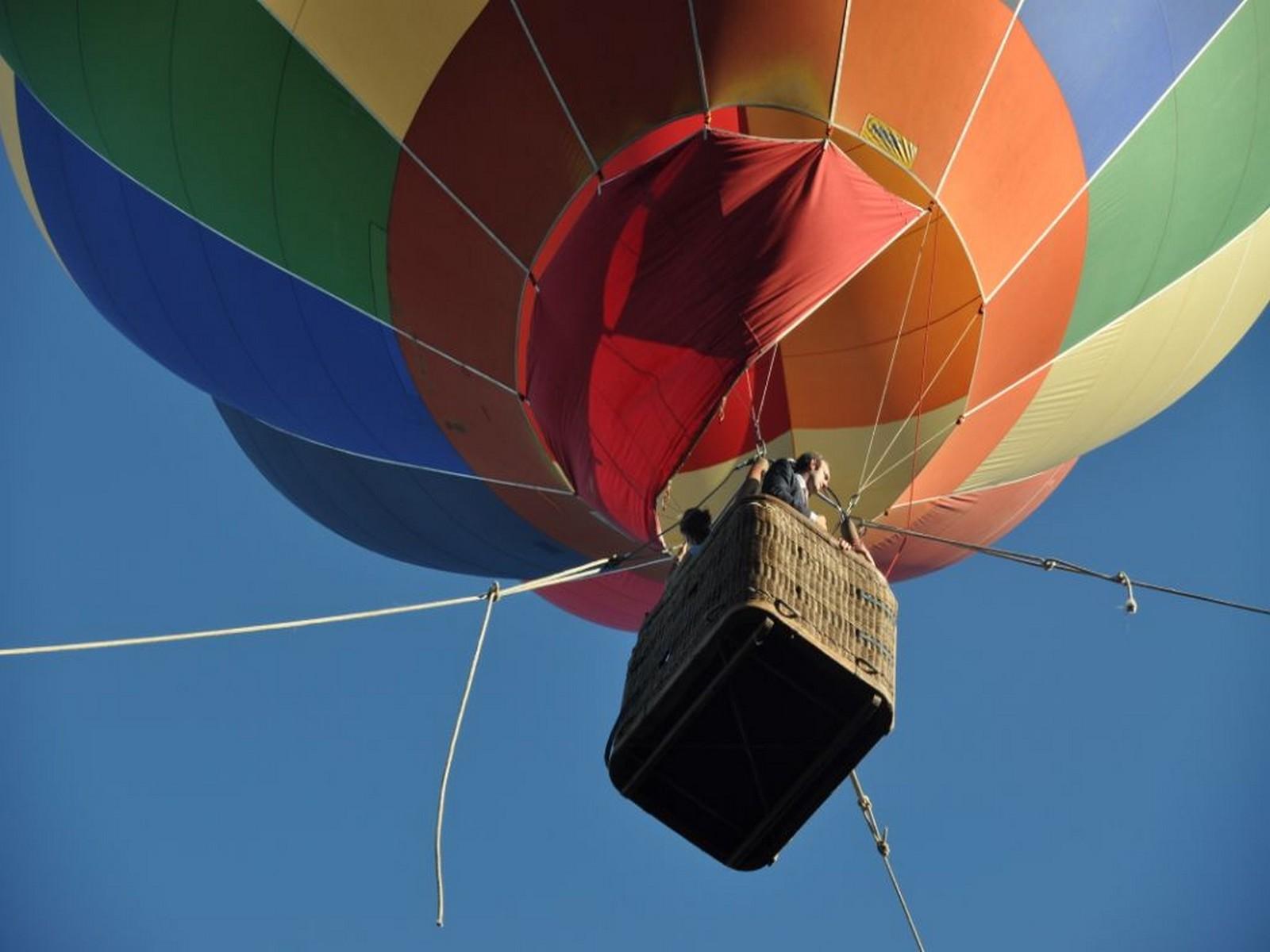 activité montgolfière séminaire à divonne