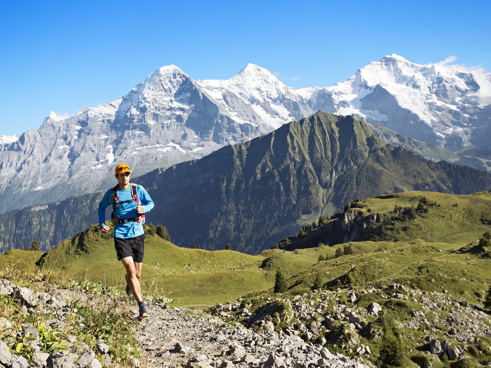 coureur entrainement pour séminaire trail haute savoie