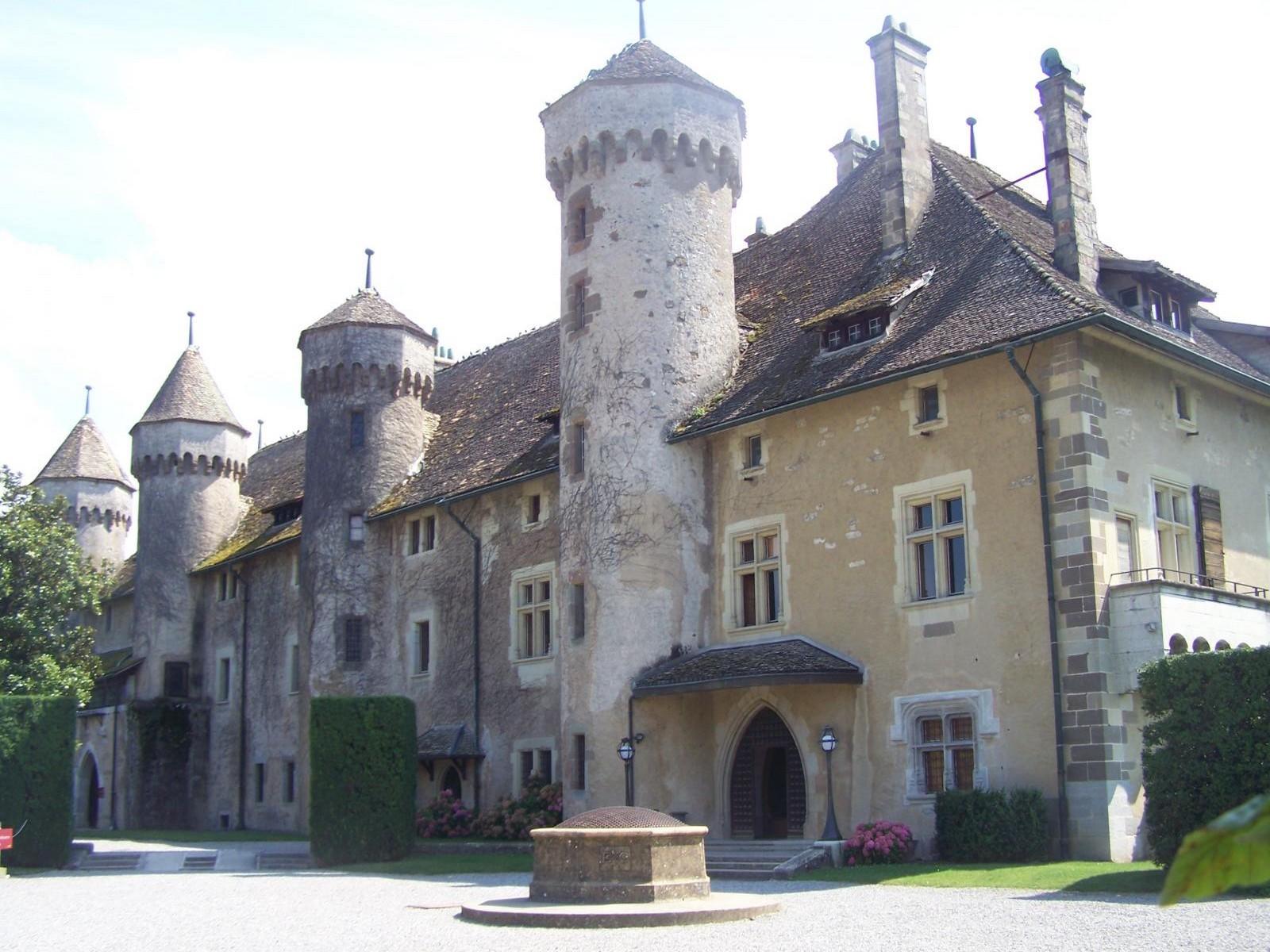 château de ripaille pour accueil séminaire à Thonon