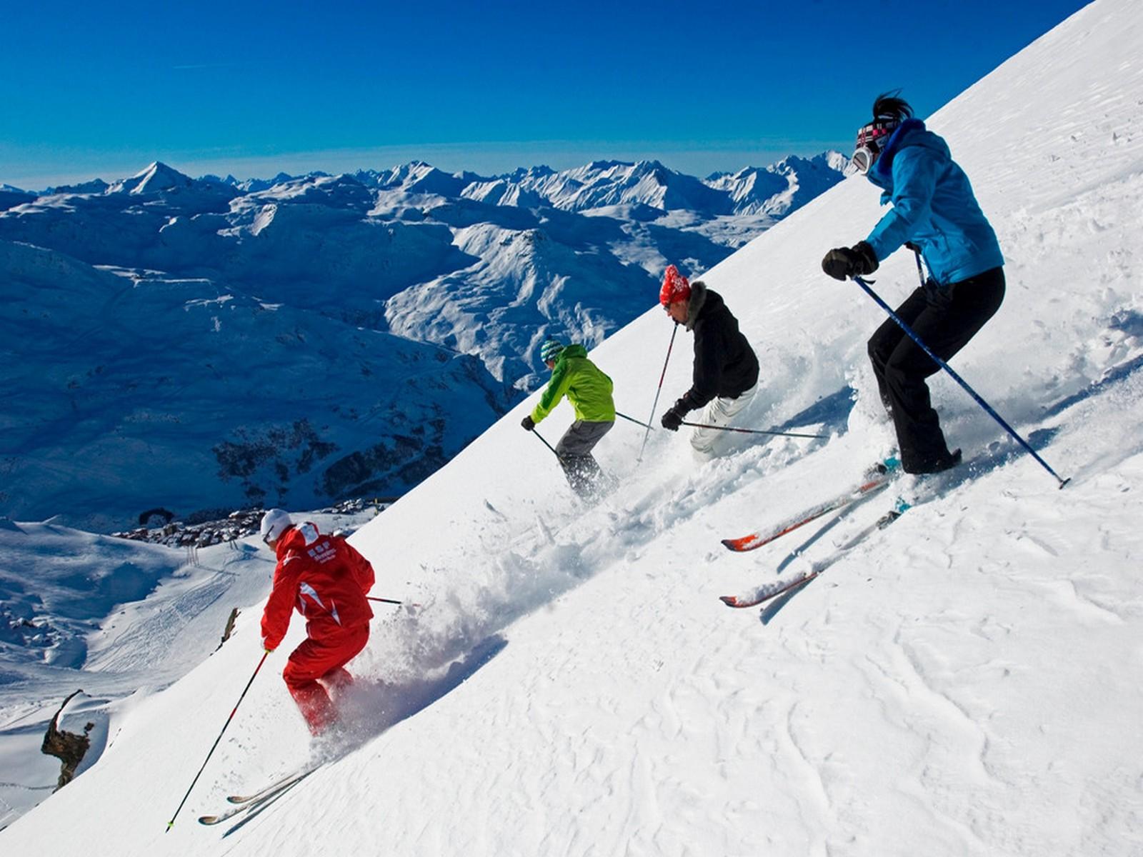 activité ski séminaire à tignes
