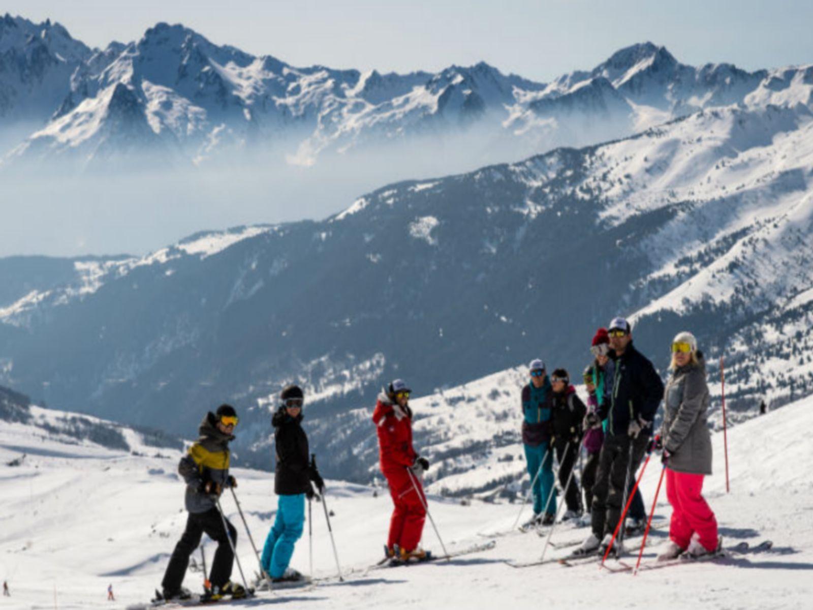 groupe ski séminaire à valmorel