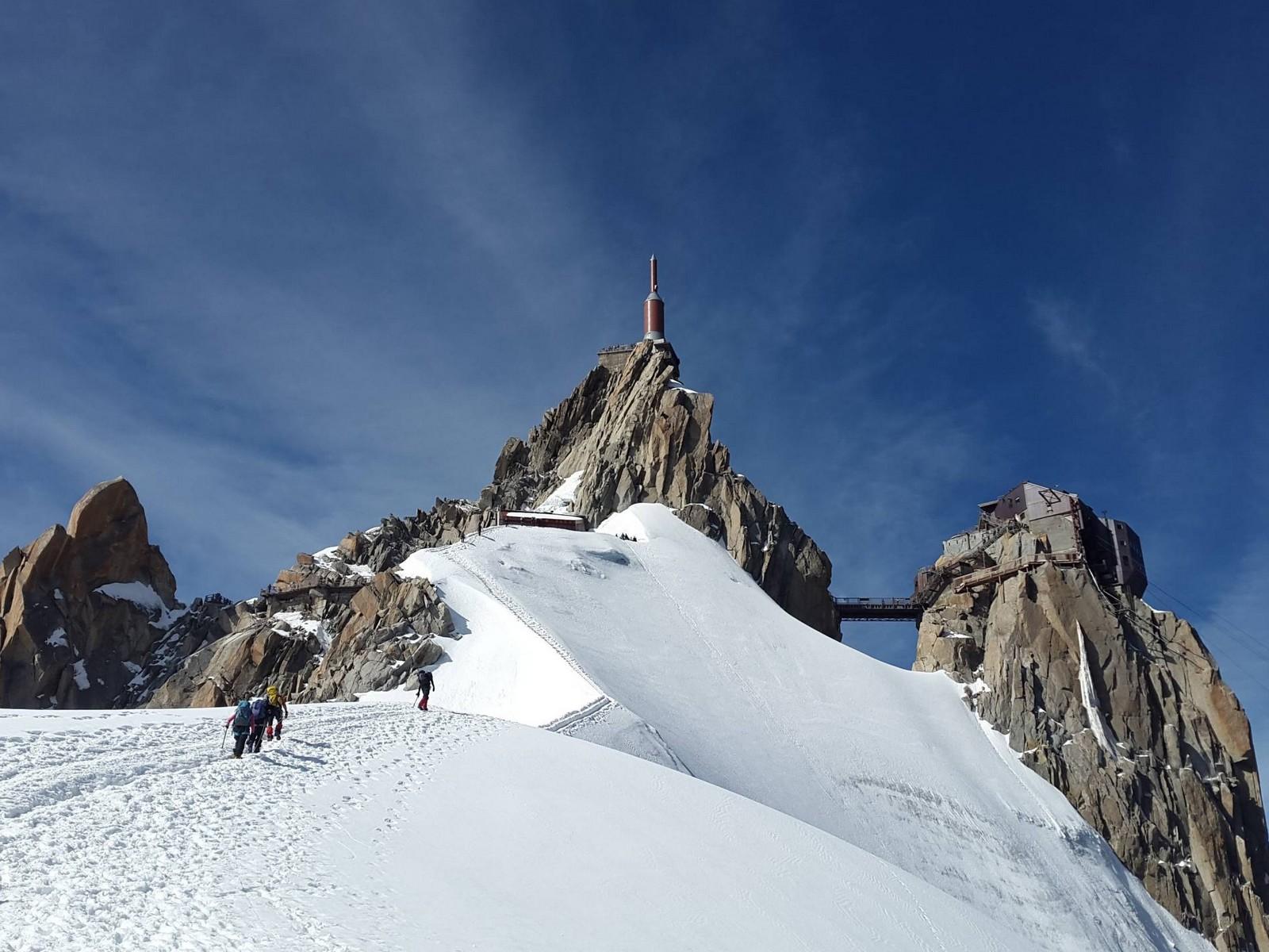 Visite de l'aiguille du midi séminaire à Chamonix