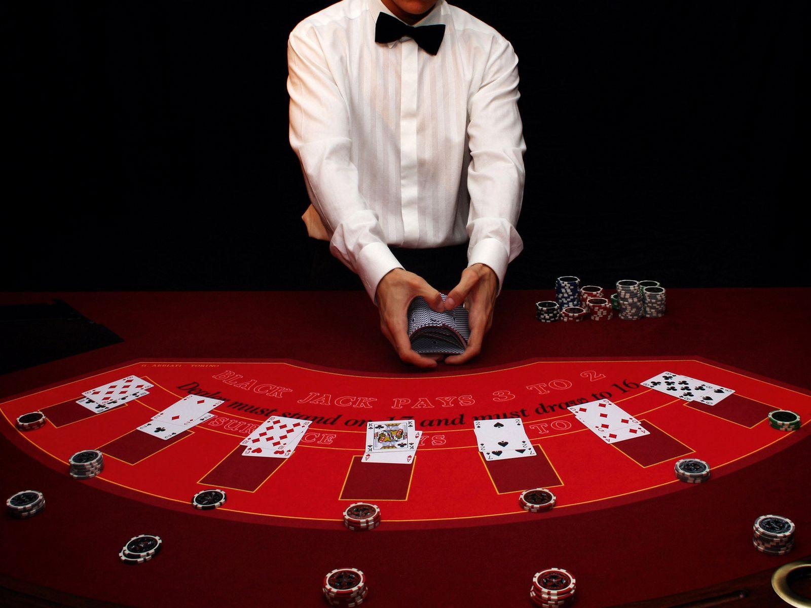 Soirée animation casino seminaire