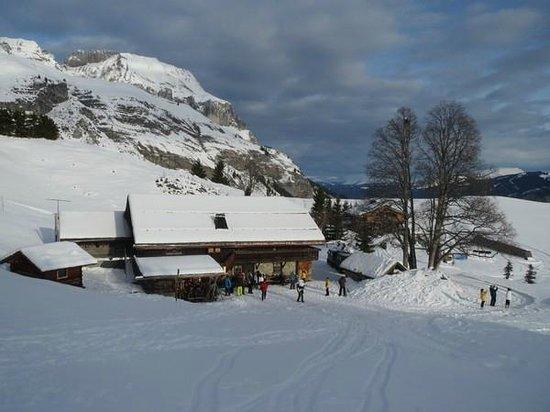 Soirée de fin d'année face au Mont-Blanc