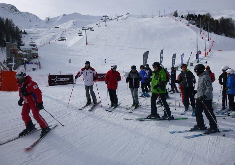 Séminaire ski à la Plagne