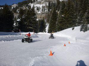 Séminaire mécanique à Flaine - Ice Quad